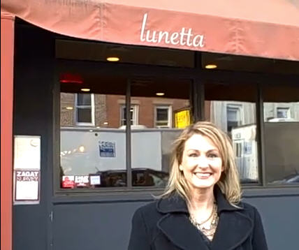 Kristen Hess at Lunetta in Brooklyn