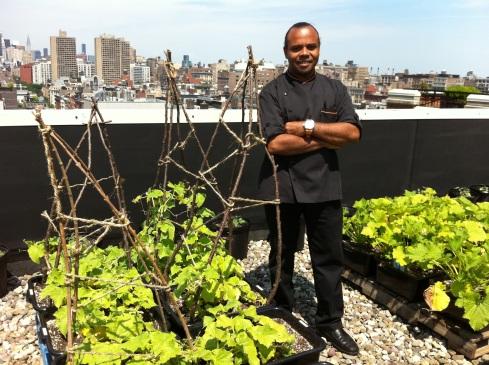 richard farnabe, executive chef Soho Grand